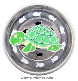 Turtle Max Reptile Gifts Gt Green Turtle Sink Strainer