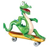 Kitty's Critters Dragon Ornament: Hot Wheeler