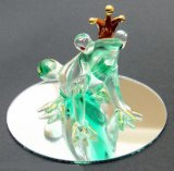 Glass Frog Prince on Mirror