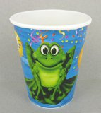 Frog/Alligator Swamp Party Cups, pk/8