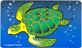 Die-Cut Loggerhead Sea Turtle Decal