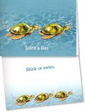 Life's A Gas Turtle Card