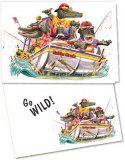 Go Wild Gator Greeting Card