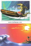 Gator Surf Greeting Card