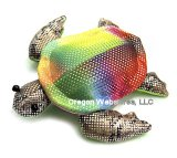 Sparkly Rainbow Sand Turtle