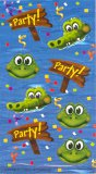 Frog/Alligator Swamp Party Stickers