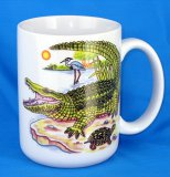 Alligator Jumbo Coffee Mug