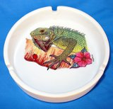 Iguana Ceramic Ashtray