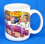 Colorful Geckos Jumbo Mug