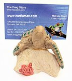 Whimsical Sea Turtle Note/Photo Holder