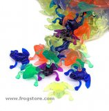 Neon Colored Frogs (72)