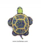 Beaded Sea Turtle Pin