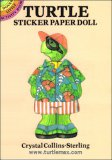 Turtle Sticker Paper Doll