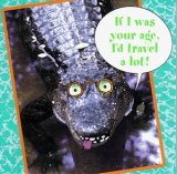 Humorous Crocodile Birthday Card