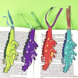 Alligator Shaped Bookmarks (24)