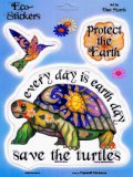 """Save the Turtles"" Earth Day Sticker"