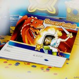 Dragon & Knight Party Invitations (8)