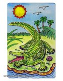 Gator Playing Cards