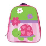 Happy Pink Turtle Kids Backpack