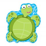 Playful Sea Turtle Notepad (50 sheets)
