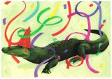 """Snappy Birthday"" Alligator Card"
