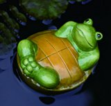 Ceramic Backfloating Turtle