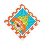 Snappy Alligator Small Napkins, pk/16