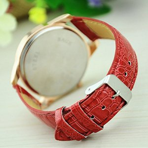 Fashion Watch with Crocodile Second Hand