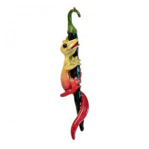 Kitty's Critters Gecko Ornament: Hot Pants