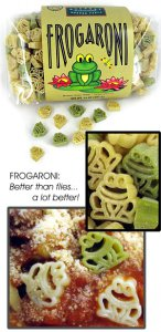 Frog-Shaped Frogaroni Pasta