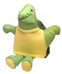 Terry Turtle Bath Mitt