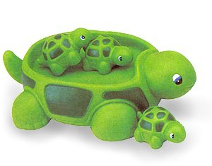 Floating Turtle Family Bath Toy