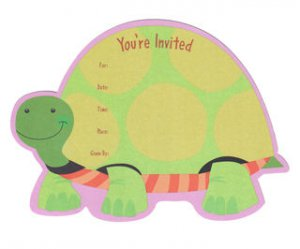 Spotted Turtle Invitations