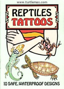 Reptile Temporary Tattoos (10)
