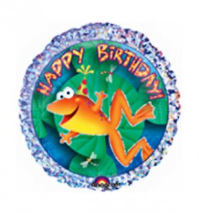 Leap Frog Friends: Frog Prism Birthday Balloon