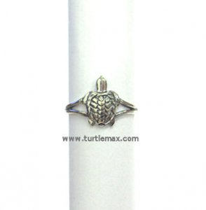 Sterling Silver Sea Turtle Toe Ring or Pinky Ring