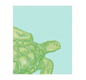 Swimming Sea Turtle Sticky Notes