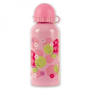 Happy Pink Turtle Stainless Steel Water Bottle