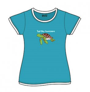 Turtley Awesome Fitted T-Shirt