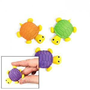 Fun Turtle Erasers (12)