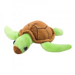 Plush Turtle with Glow-In-The-Dark Eyes