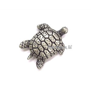Pewter Sea Turtle Magnet