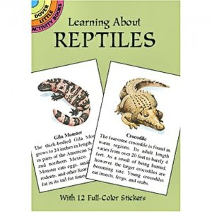 Learning About Reptiles Sticker Book