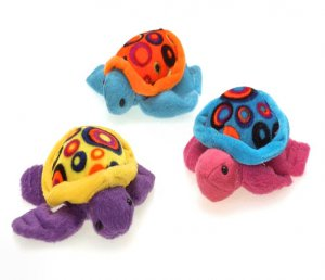 Plush Neon Spotted Tiny Sea Turtles (12)