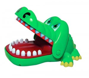 Mini Gator Dentist Game (assorted colors)