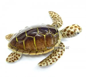 Porcelain Miniature: Loggerhead Sea Turtle