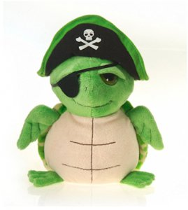 Plush Pirate Turtle