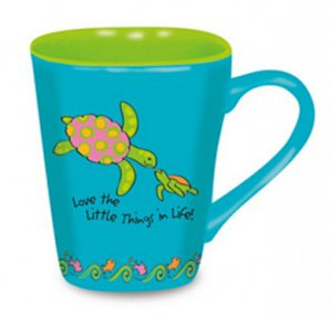 Sea Turtle Love Ceramic Mug