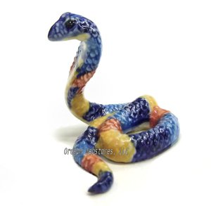 """Wadjyet"" Mini Porcelain Egyptian Cobra"