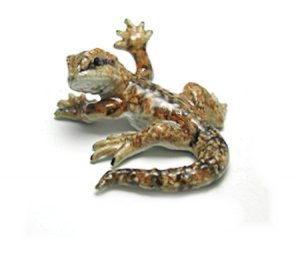 """Pogona"" Mini Porcelain Bearded Dragon"